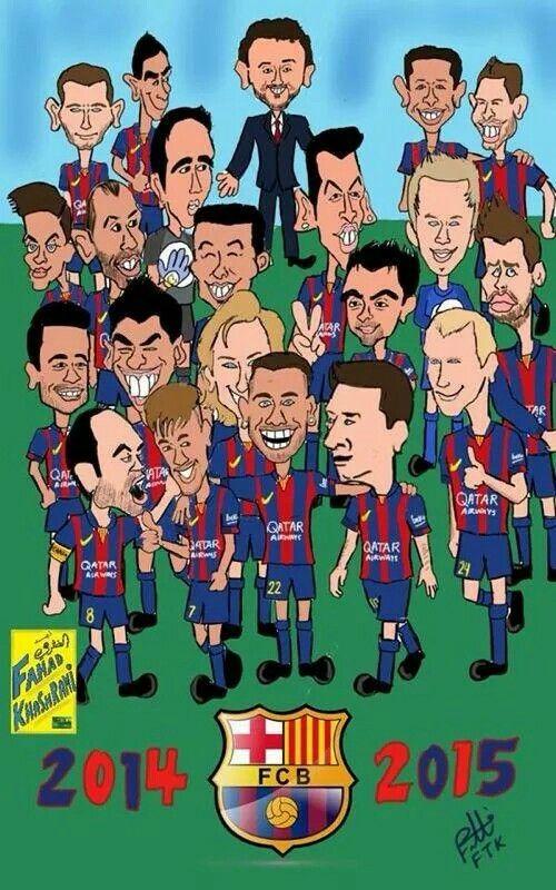 Vizca El Barca Equipo De Barcelona Visca Barca Dibujos De Futbol