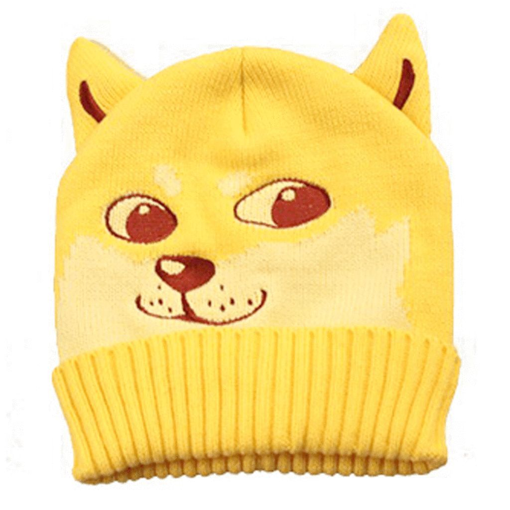 Image Result For Doge Scarf Knitted Cute Beanies Animal Themed Jewelry Shiba Inu