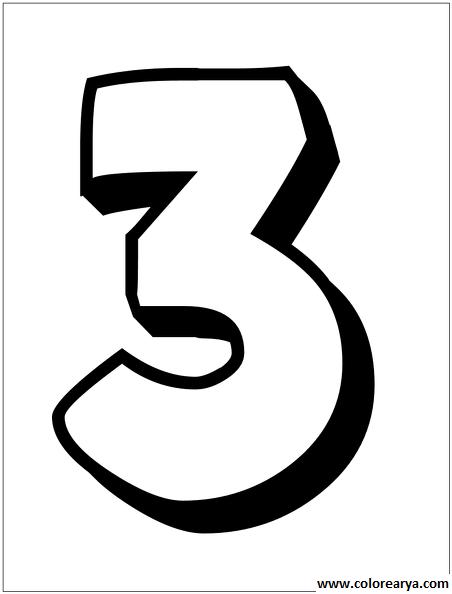 Numero 3 Para Imprimir Png Bolo Pequeno Principe Molde Estilo Americano