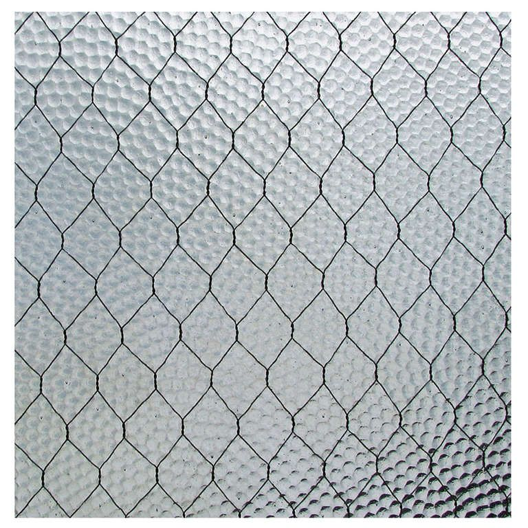1920s \'Pebbled\' Vintage Chicken Wire Glass | Chicken wire, Garden ...