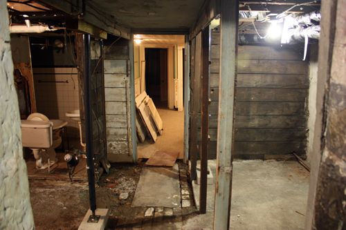 creepy basement bedroom. Scary  The Basement Of Our 120 Year Old Brick Row House Inside
