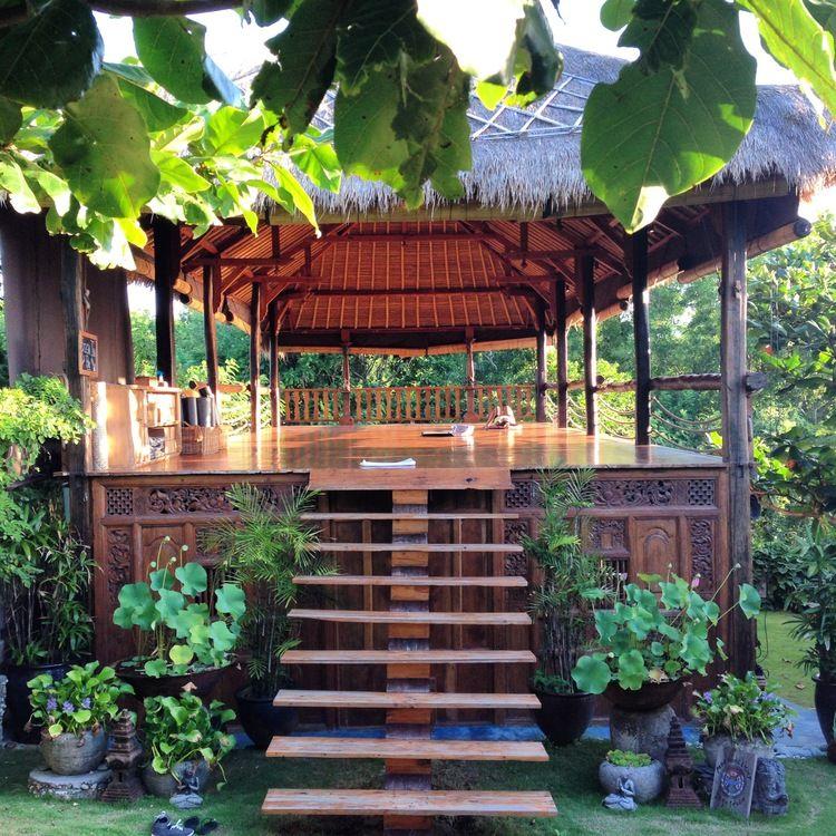 Yoga Studio Lighting Ideas: Bali Yoga Bliss. Bali Yoga Recommendations. Morning Light