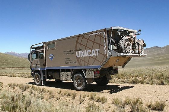 The Unicat is over an OVER the top RV. It would be great fun to ...
