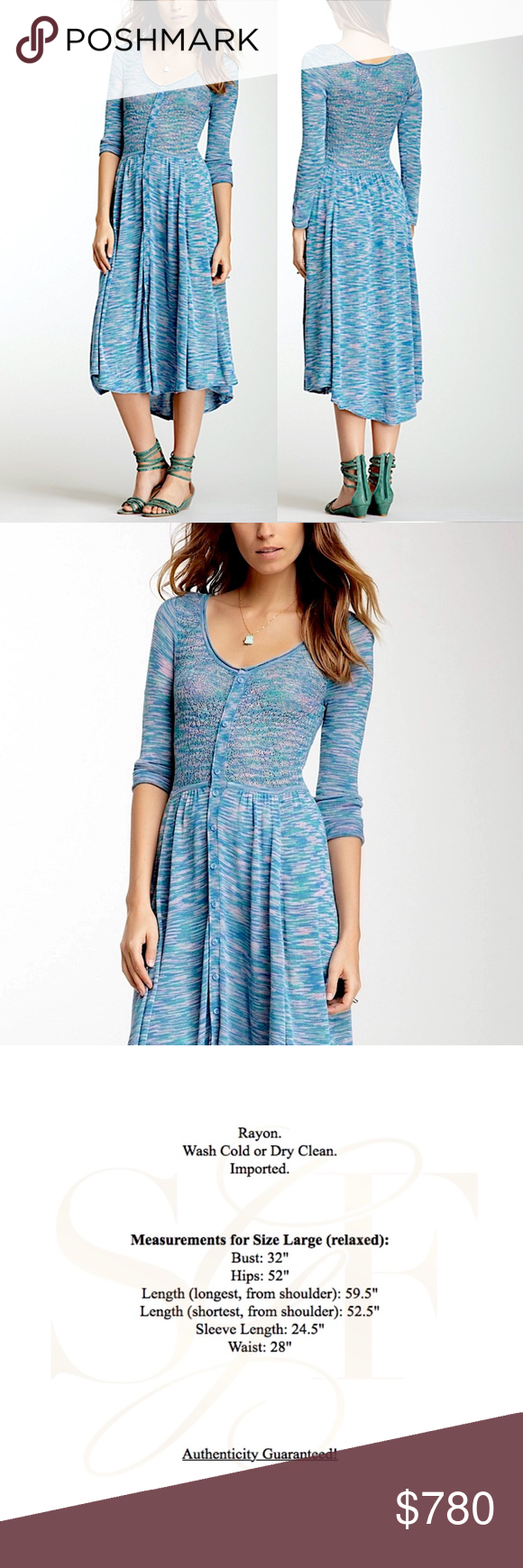 Free people woven dress intricate draped maxi gown nwt pinterest