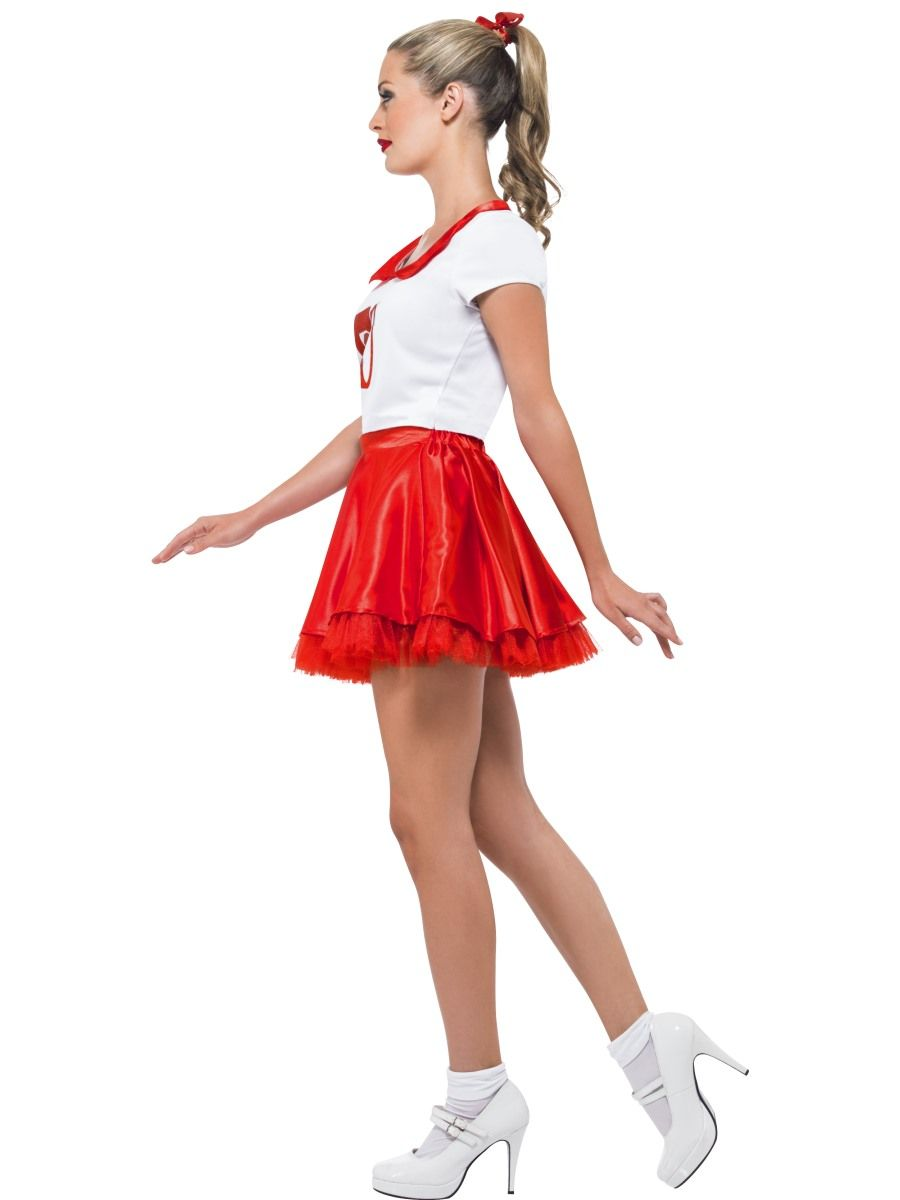 Grease Sandy Cheerleader Costume - 25873 - Fancy Dress Ball ...