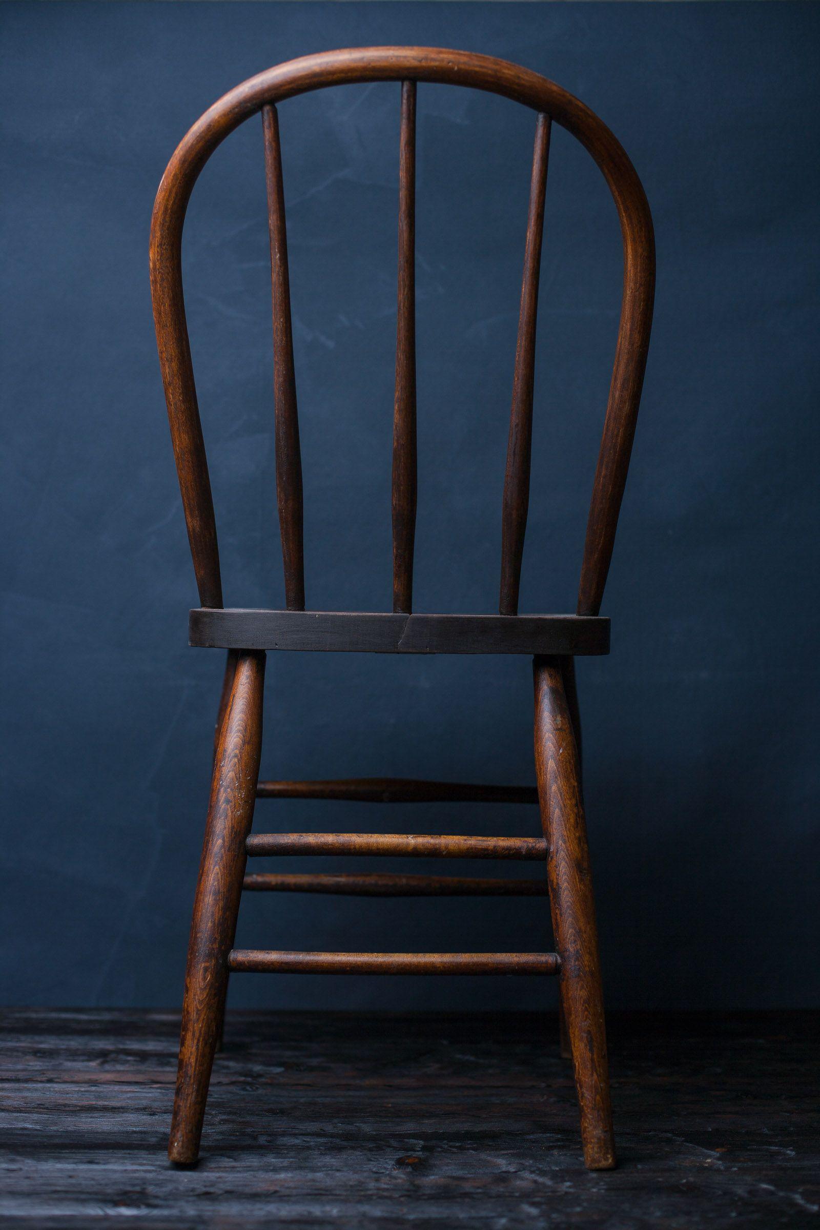 Dark hued portrait chair. | Chair, Dining chairs, Decor