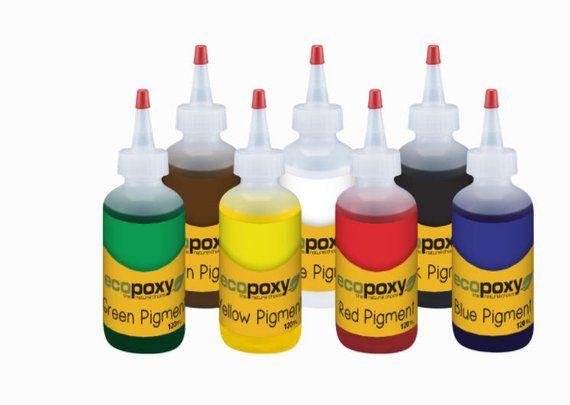 EcoPoxy | Resin Pigment 60 ML Kit | Resin Art Pigments | Resin Tints ...