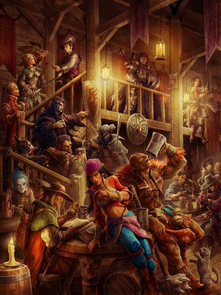 Art Grotesque Art Fantasy illustration, Art, Fantasy art