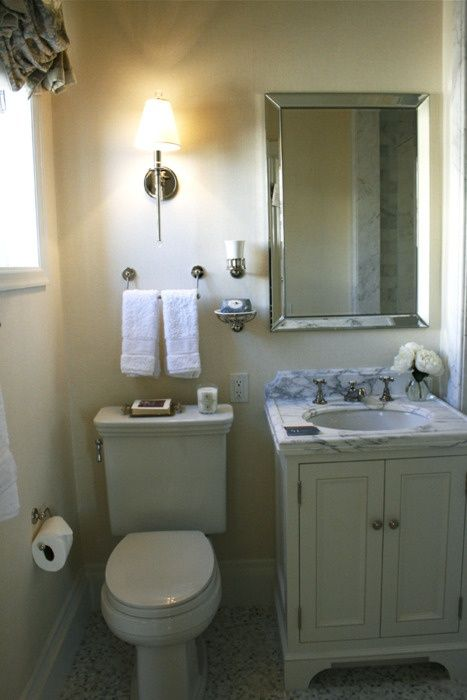 Decoration wc – 10 Idées deco wc moderne | Small bathroom, Small ...