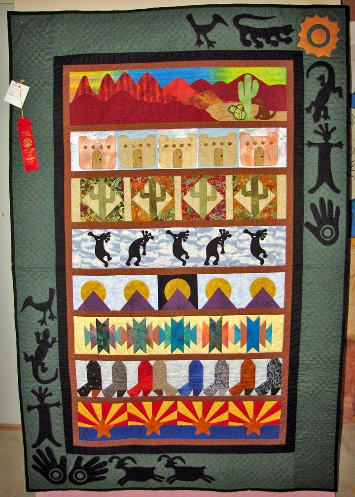Quilts By Marlene Southwest Memories Quilt Kokopelli