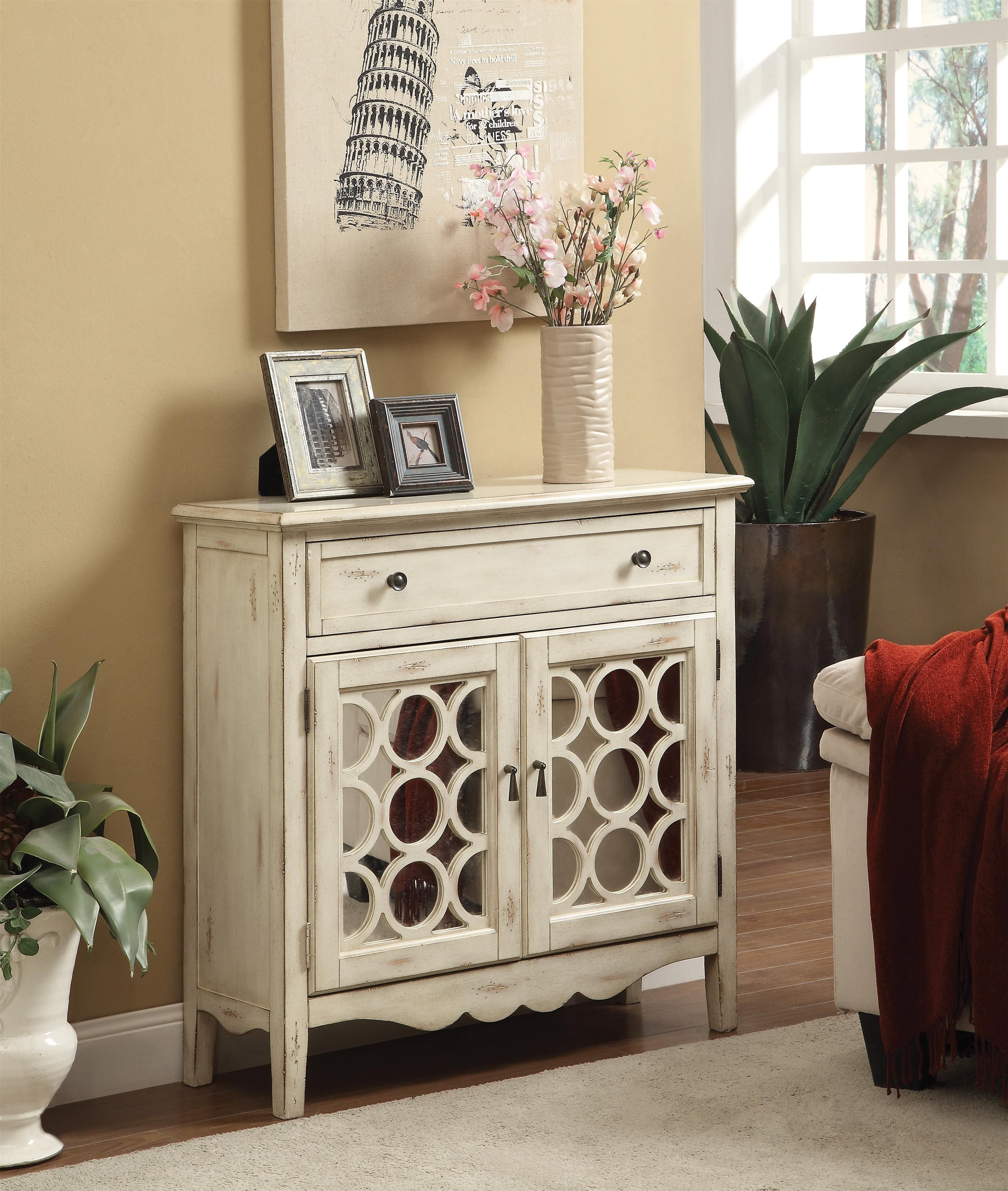 Genial Small Accent Cabinet With Doors