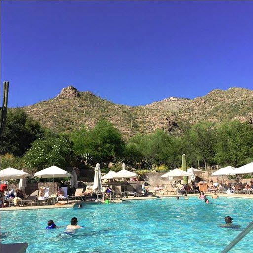 This Is How We Swim In Tucson Arizona Loews Ventana Canyon Resort Photo Via Ig User Clsat27 Click On The Pin For Tucson Resorts Destination Spa Resort