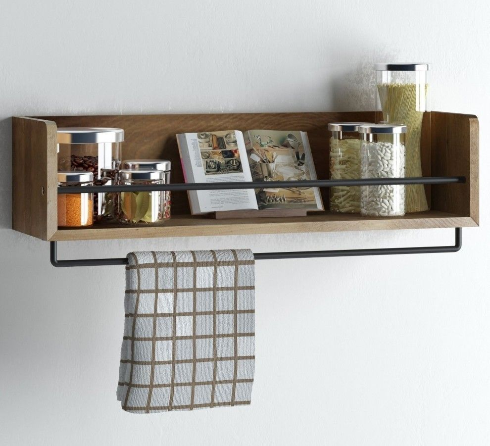 Pin By Decorrea Com On Rv In 2019 Wood Wall Shelf Kitchen Wall
