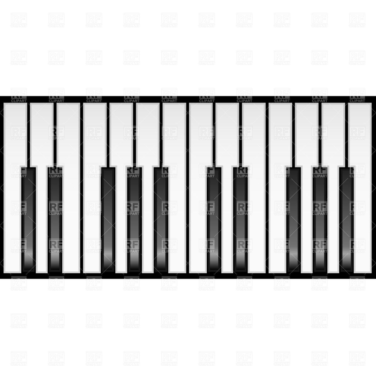 piano keyboard music pinterest pianos rh pinterest com piano keyboard clipart wavy piano keys clipart
