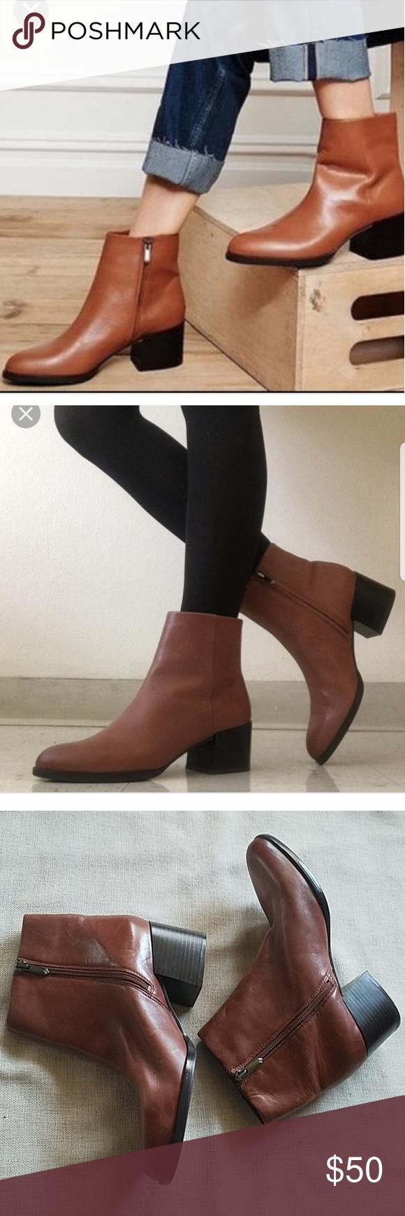 259818b00a7fa Sam Edelman Bootie⚘💖 Zam Edelman- Joey Bootie Modena calf leather Rubber  sole Shaft