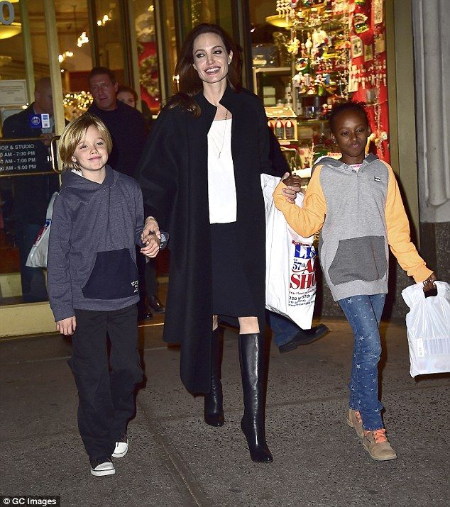 Jolie - who currently retains temporary physical custody of the children - remains undaunt...