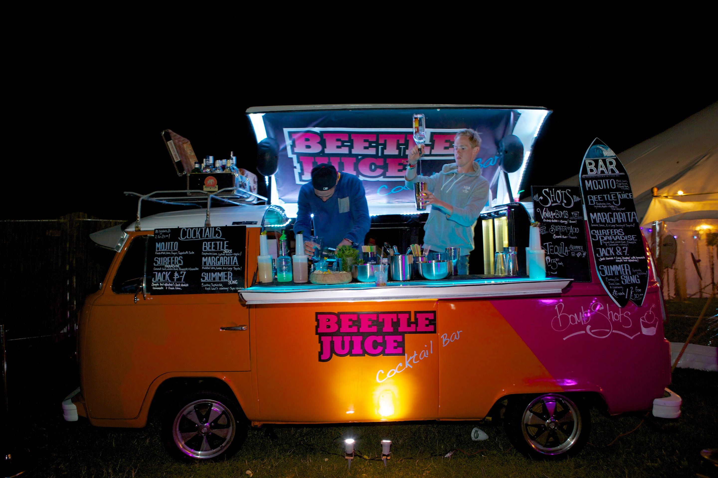 Unique Mobile Bar For Weddings Events High Times Entertainment