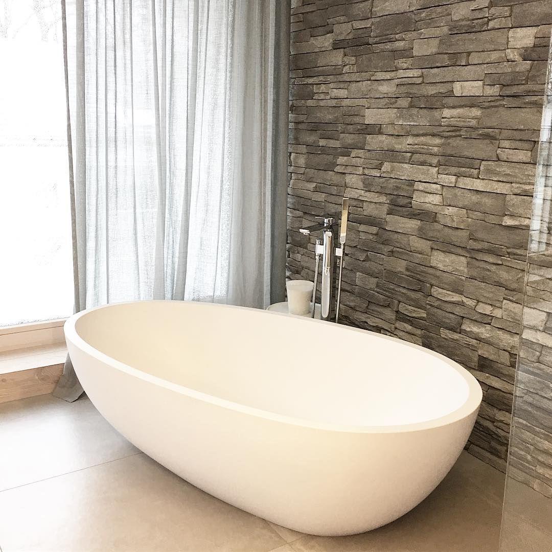Badezimmer Ich Hatte Ein Paar Fragen An Alle Bauherren Bzw Bauherrinnen Die Eine Freistehende Badewanne Im Bad Stehen Haben Bathroom Instagram Bathtub