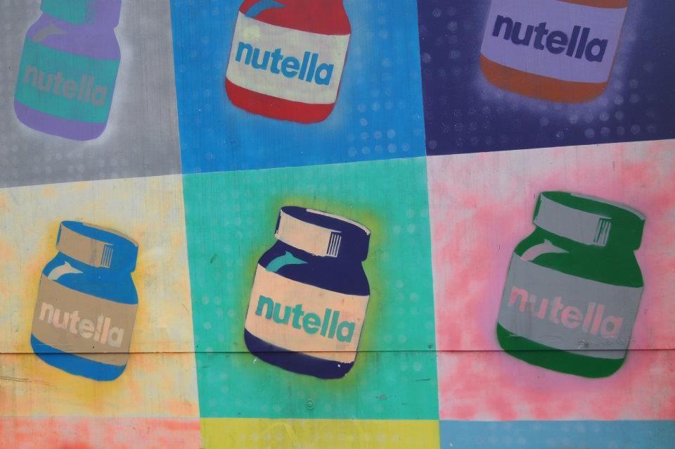Nutella Pop Art