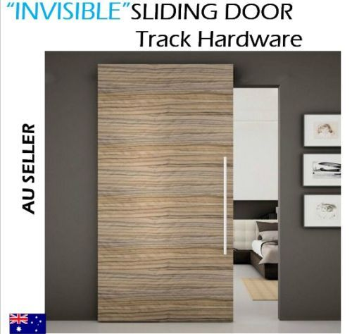Sliding Door Hardware Track Set Invisible Floating Track System
