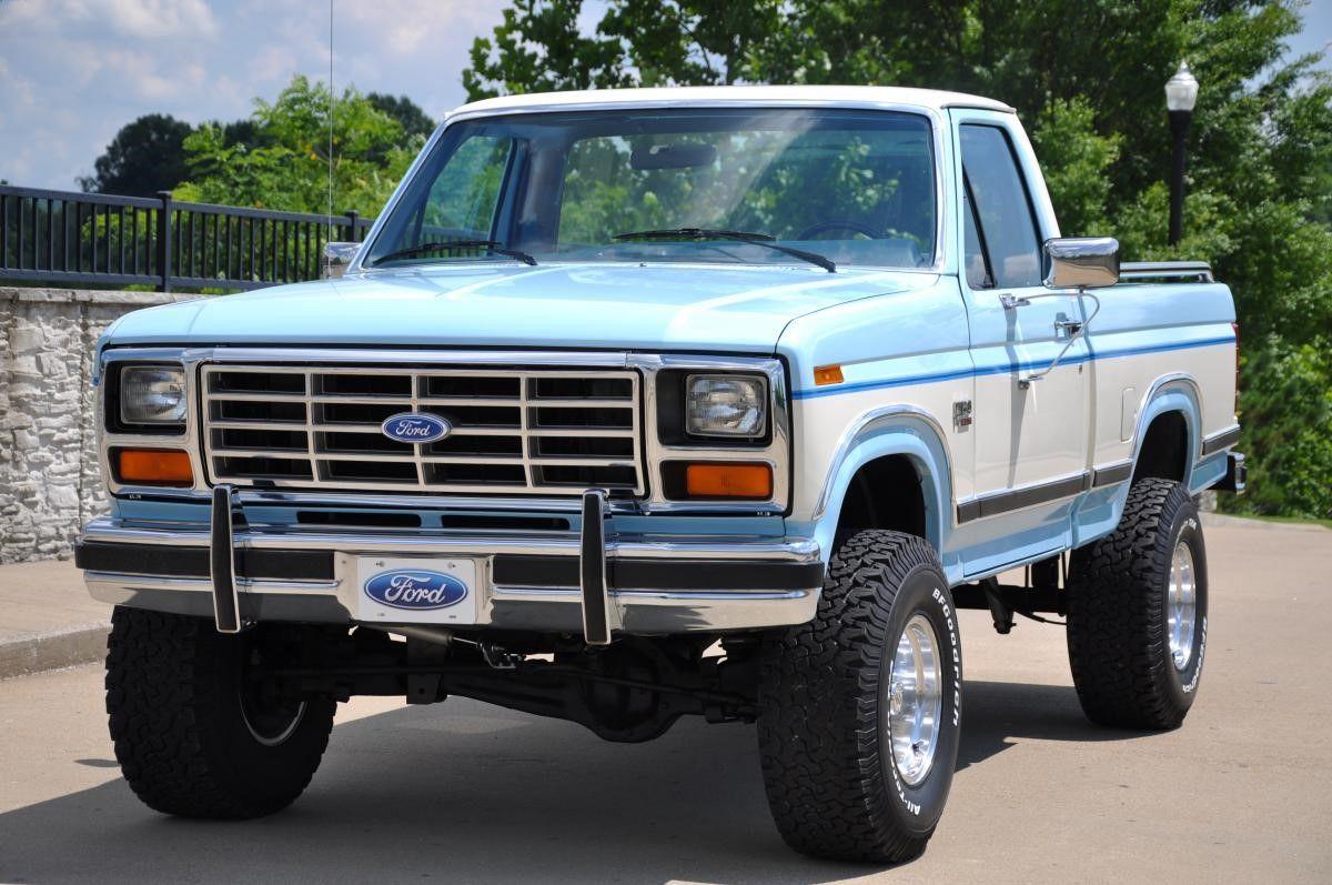 1986 Ford F 150 Lariat Xlt 4x4 Classic Trucks Ford Trucks Classic Ford Trucks