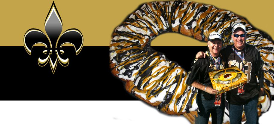 Football Party - Traditional King Cake available in your team's colors!