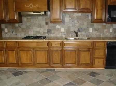 Slate Tile Backsplash Slate Tile Backsplash Can Be A Wonderful Complimentary Kitchen Backsplash Designs Inexpensive Kitchen Remodel Luxury Kitchen Backsplash