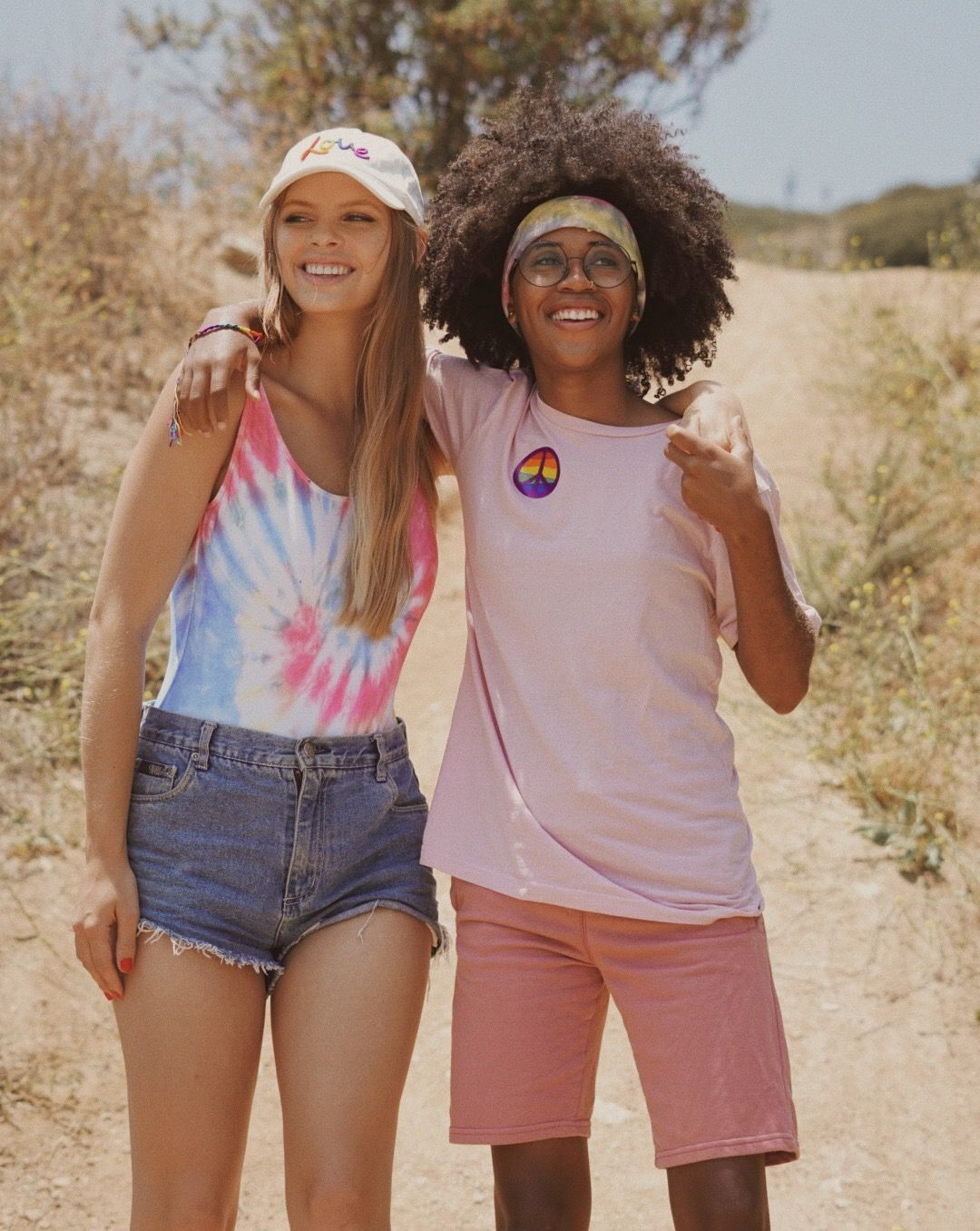 Cute lesbian couple for Abercrombie s Pride collection