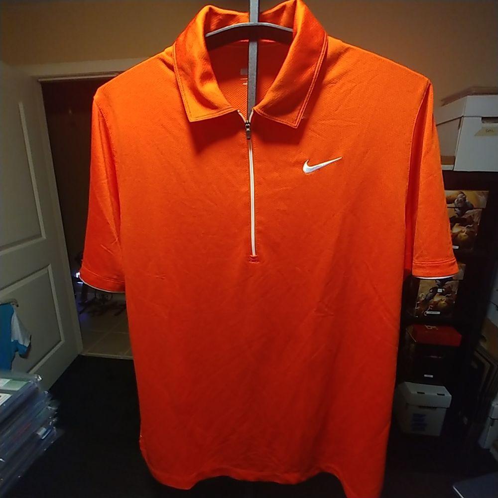 Nike Tennis Quarter Zip Polo Shirt Size L Nwt Fashion Clothing Shoes Accessories Mensclothing Activewear Ebay Link Shirt Size Shirts Nike Tennis