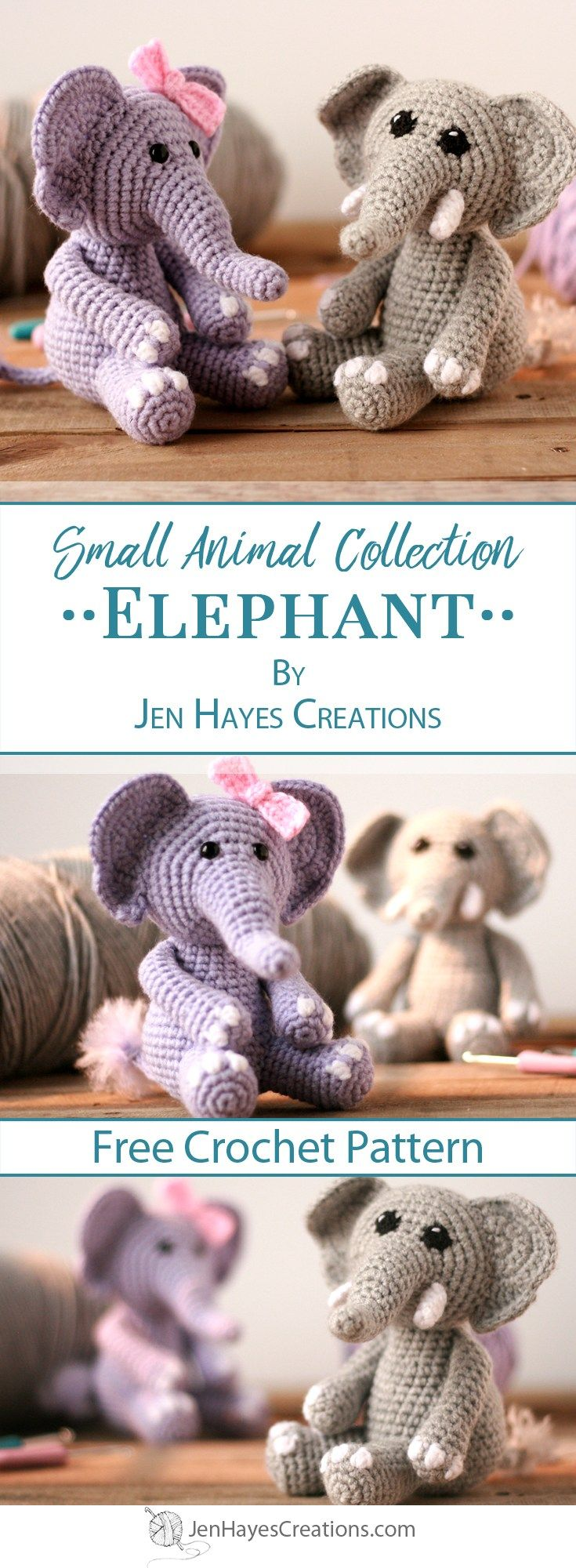 Small Animal Collection: Elephant | Jen Hayes Creations