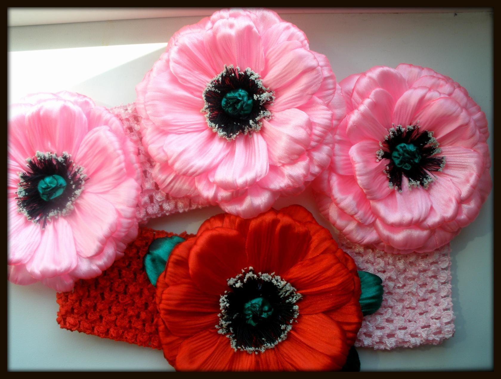 Канзаши и различные МК | Тканевые цветы, Японские ...