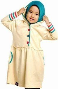 Model Baju Muslim Anak Perempuan Fashion Idea Kids Moslem