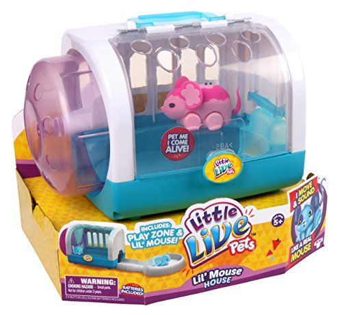 Amazon Com Little Live Pets Lil Mouse House Blossom Toys