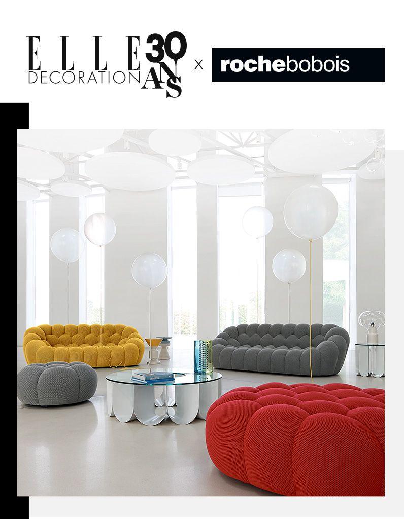 Votre Canap Bubble Roche Bobois D Une Valeur De 4000 Elle  # Canape Cinema Roche Bobois