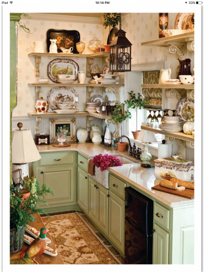 Consider a Few Basic Points When Building a Shabby Chic Kitchen