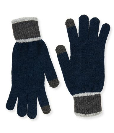 """""""Jerk"""" Frost wants to chill ya to the bone while you're messaging your bros, so tug on our Texting Gloves and tell him to beat it! Tech fabric at the pointer finger and thumb lets you operate your touchscreen, and the design keeps your hands toasty.<br><br>Style: 5565. Imported.<br><br>Body: 88% acrylic, 11% polyester, 1% spandex.<br>Tech yarn: 75% acrylic, 12% metal fiber, 11% polyester, 1% spandex, 1% other fiber.<br>Machine wash/dry flat."""