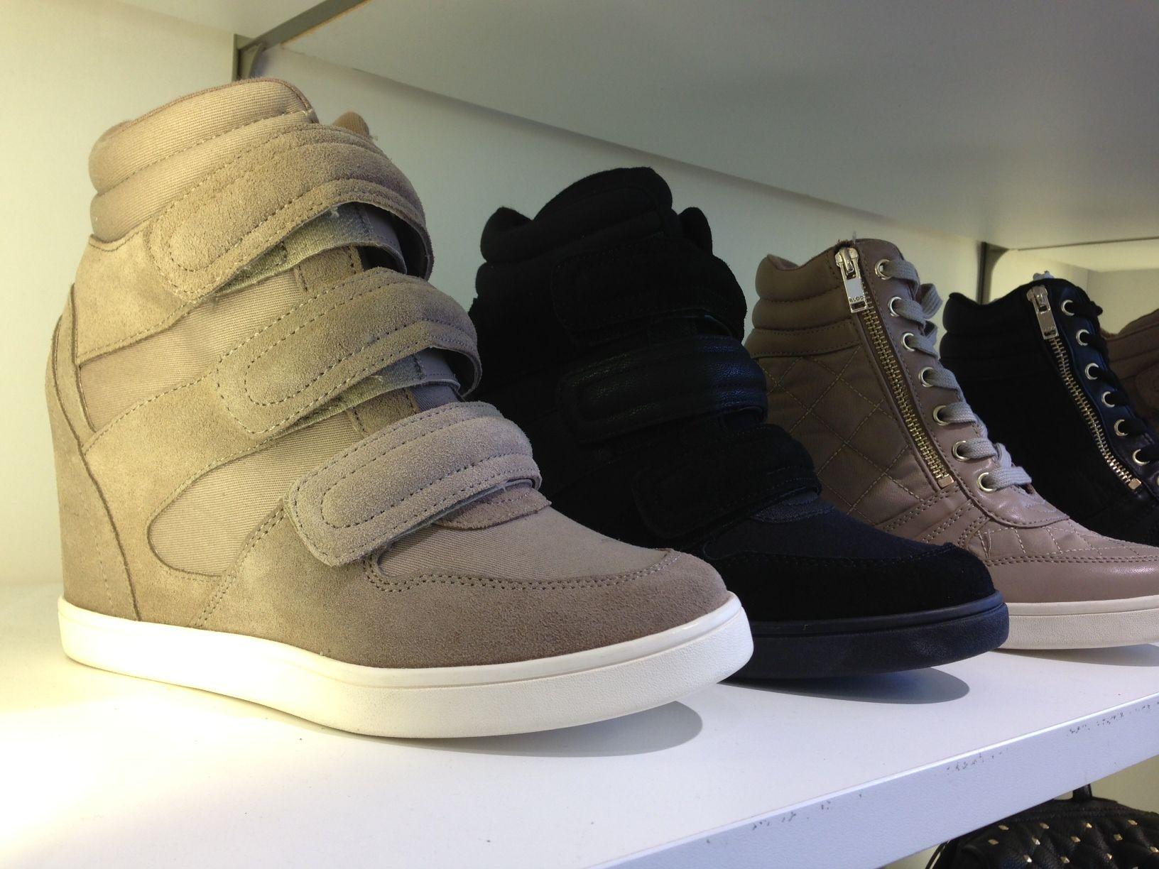0e81459a640 Aldo sneaker wedges