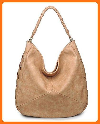 Urban Expressions Milo Hobo Handbag (Flax) - Hobo bags (*Amazon Partner-Link)