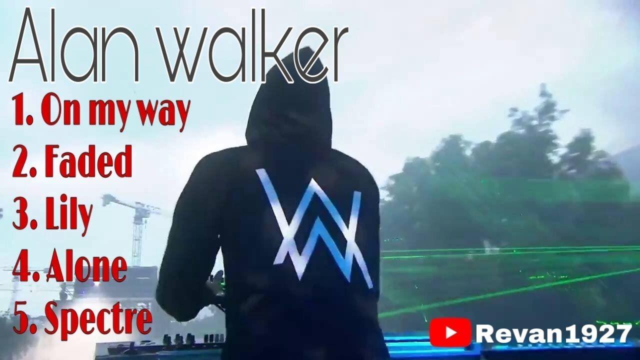 Best of Alan walker - on my way, faded, lily, alone ...