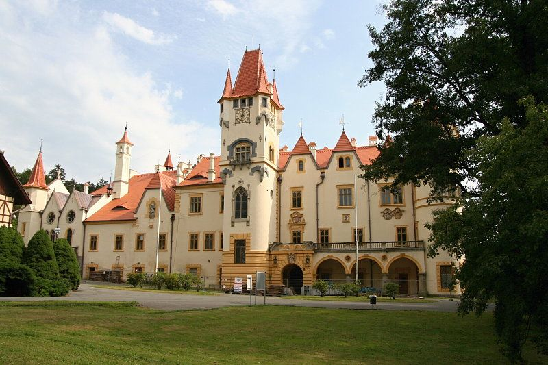Česko, Žinkovy - Zámek