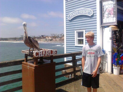 My son in Oceanside, CA