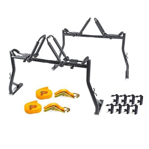 AA Racks Truck Rack with (8) Mounting C-Clamps and Folding