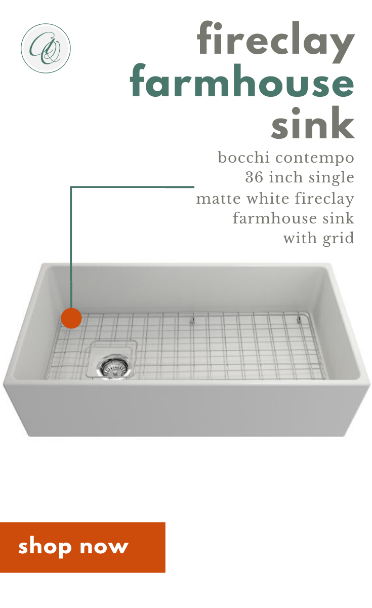 Bocchi Contempo 36 Matte White Fireclay Farmhouse Sink Single Bowl With Free Grid In 2020 Farmhouse Sink Kitchen Farmhouse Sink Fireclay Farmhouse Sink
