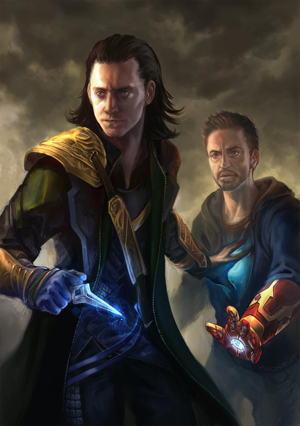 Tony X Loki - Exploring Mars