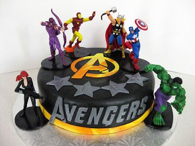 Decoracin de Fiestas Infantiles de Los Vengadores o Avengers