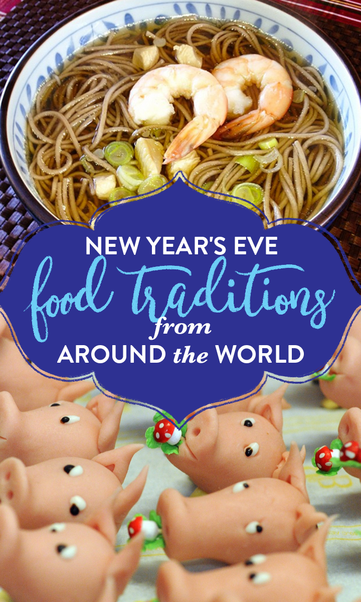 7 joyous New Year's food traditions from around the world
