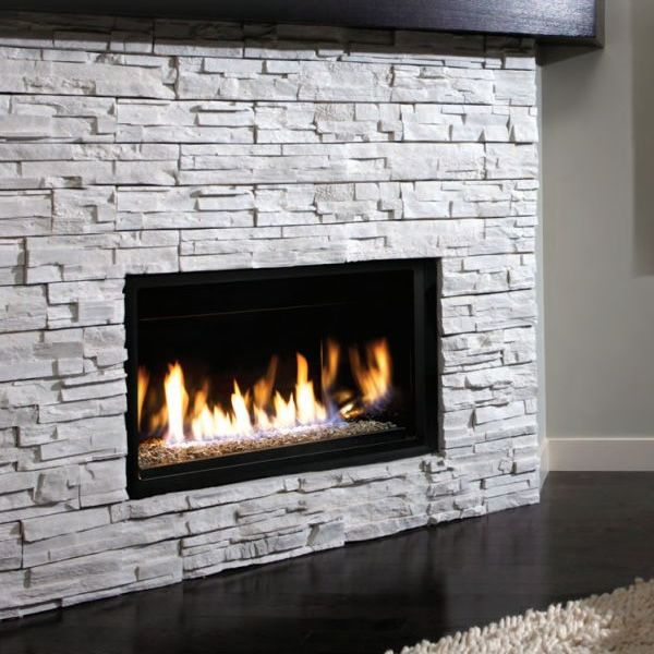 Vented gas fireplace and Kingsman