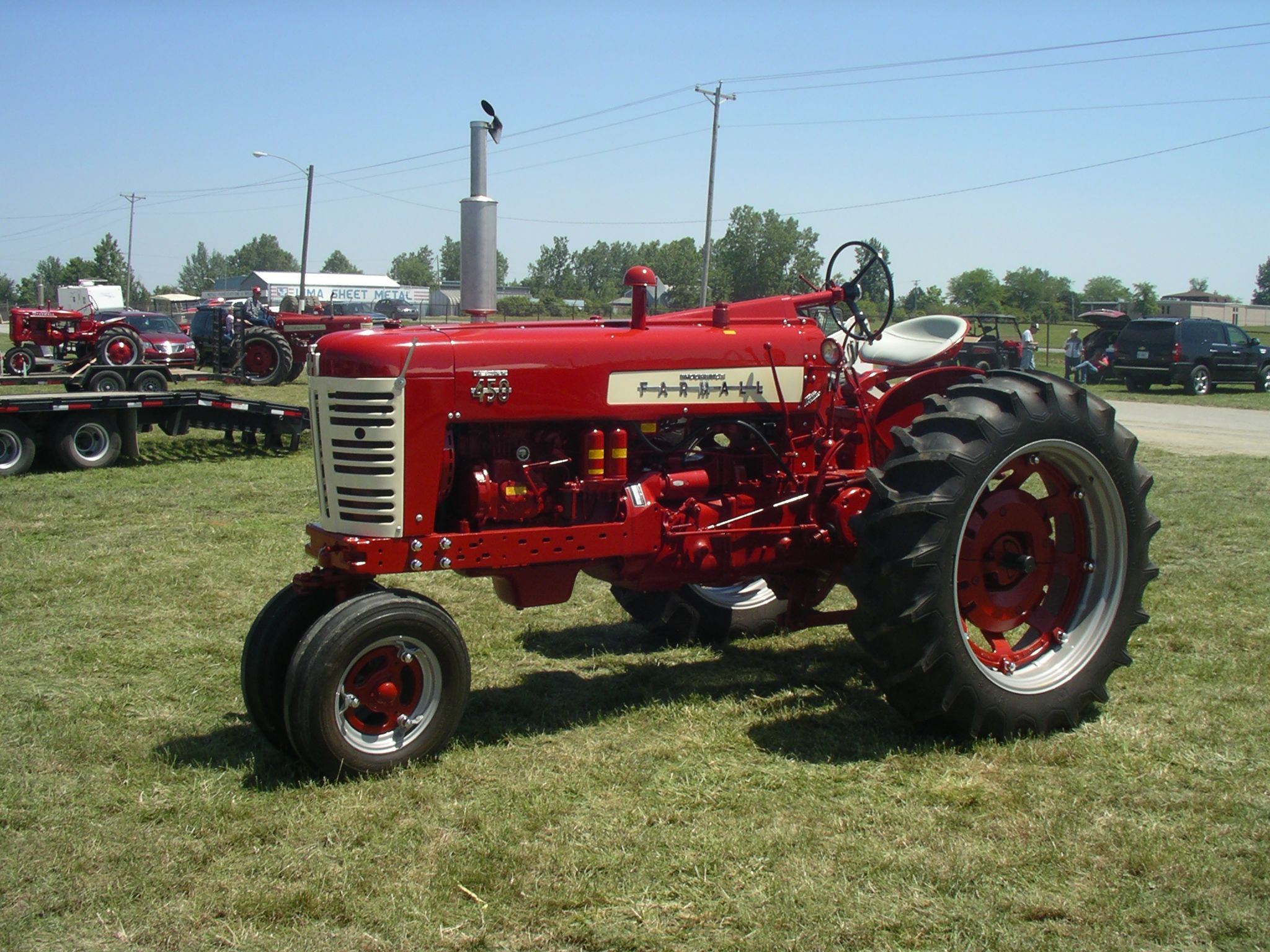 Farmall 450 Diesel | Red Power Round Up 2013, Lima OH ...