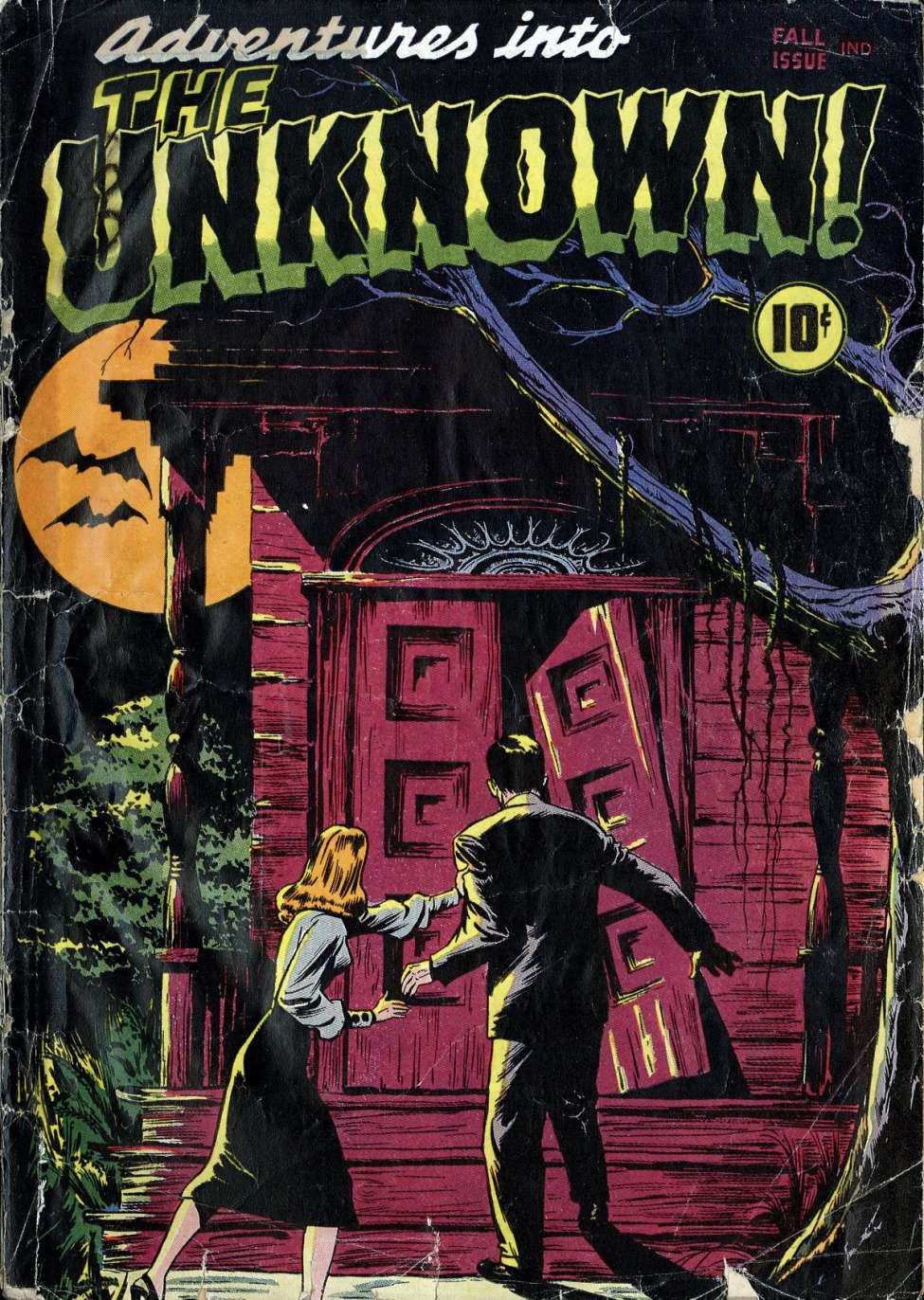 Adventures into the Unknown #1 (American Comics Group / ACG) #comicbooks
