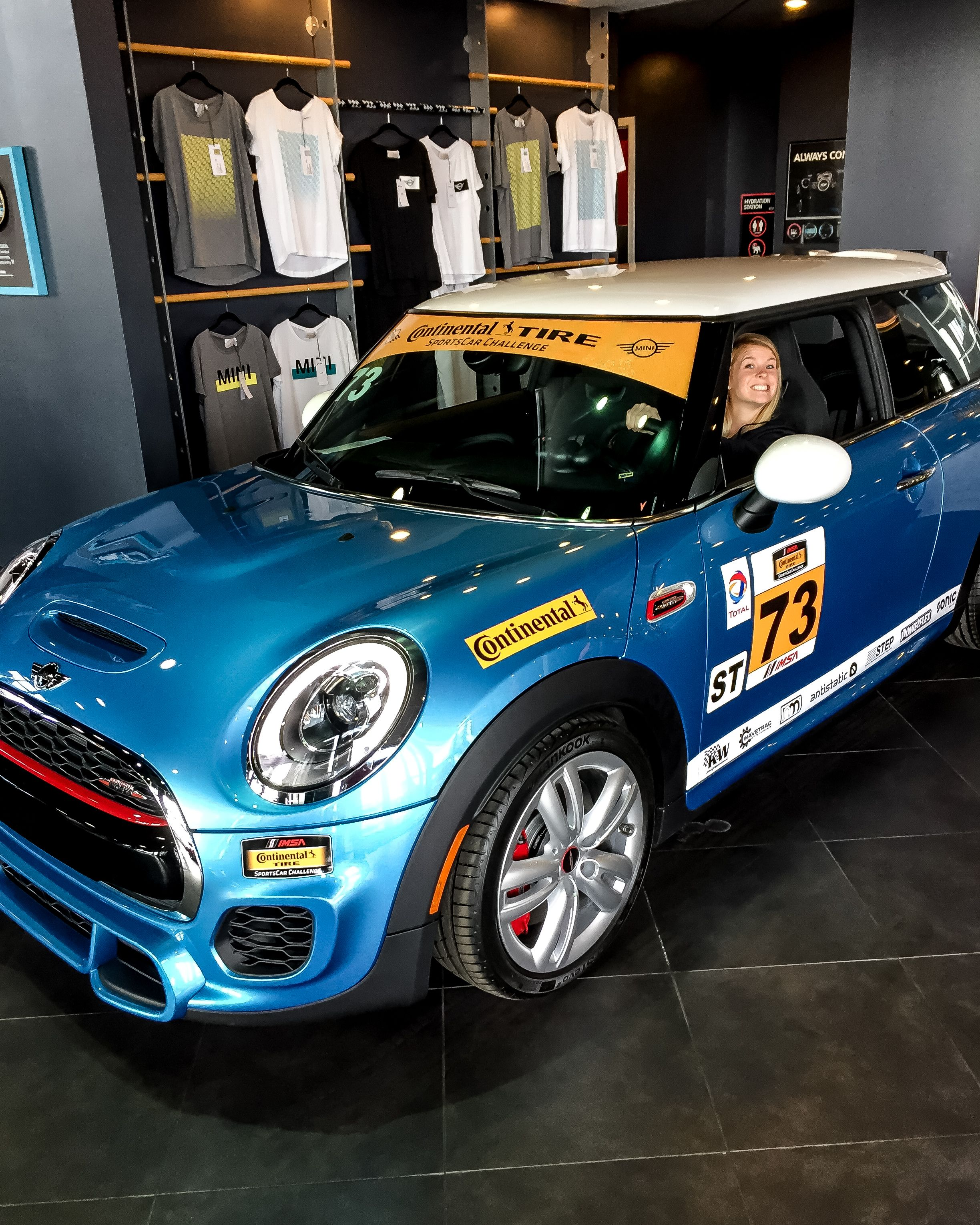 The Mini John Cooper Works Racing Team Returns To Action For Round 3 Of The 2017 Ctsc Season Catch The Circuit Of Mini Cars For Sale Mini Mini Cooper Clubman